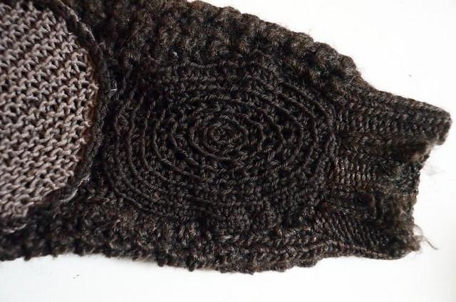crochet darning