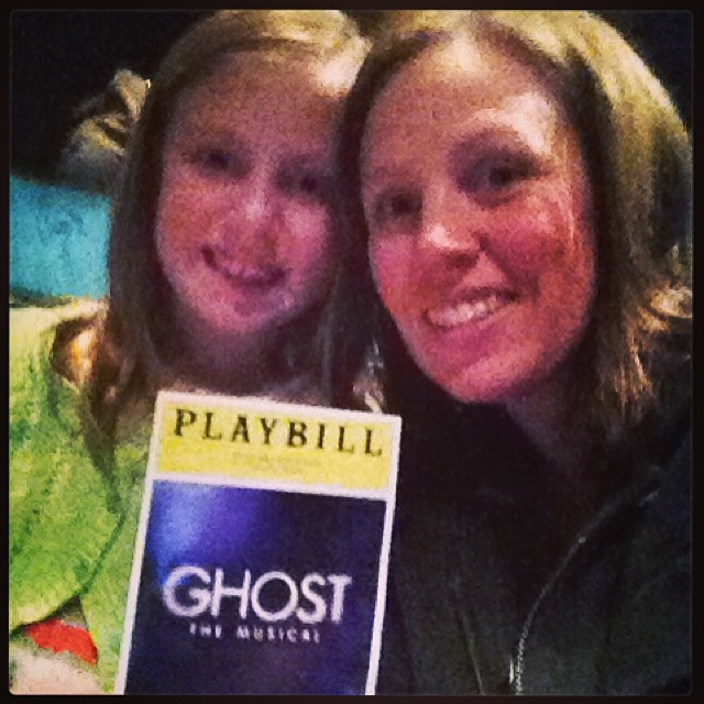 Me and Madelyn at Ghost!!!