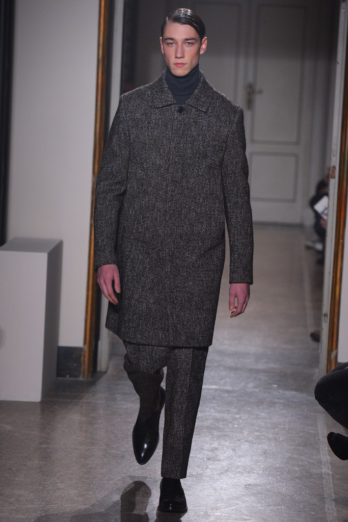 FW14 Milan Guglielmo Capone023_Harvey James(WWD.com)