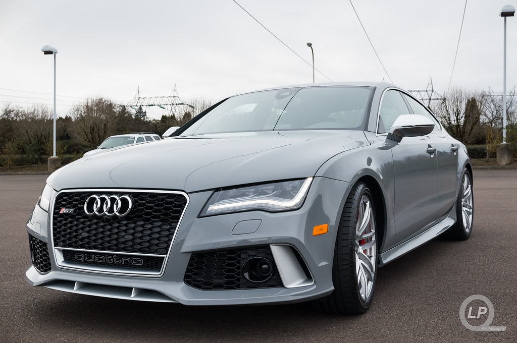 Photo Shoot Nardo Gray Audi Rs 7 Audi For Life