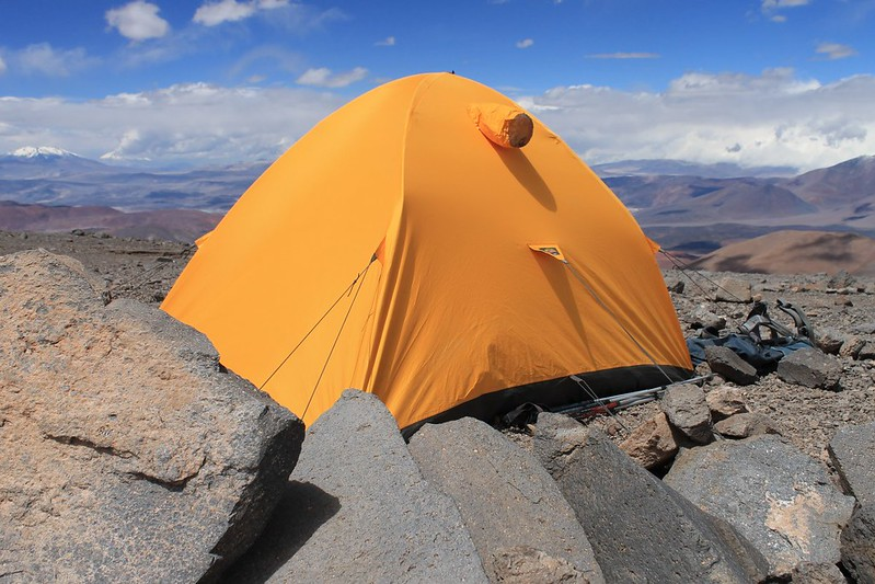Pissis high camp (5750m)