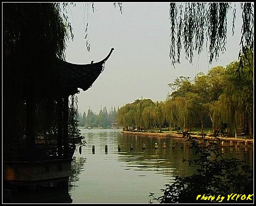 杭州 西湖 (其他景點) - 512 (西湖十景之 柳浪聞鶯 在這裡準備觀看 西湖十景的雷峰夕照 (雷峰塔日落景致)