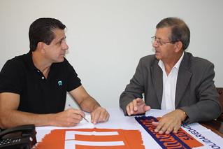 Armando Henrique, presidente da Federação nacional dos Técnicos do Trabalho