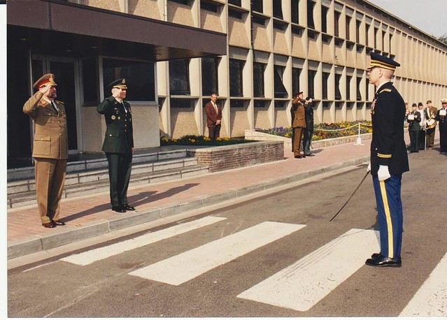 1. Cartierul General NATO, MONS, raportul cdt. garda