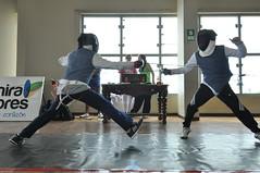 hapkido(0.0), weapon combat sports(1.0), sport venue(1.0), contact sport(1.0), sports(1.0), combat sport(1.0), fencing(1.0),
