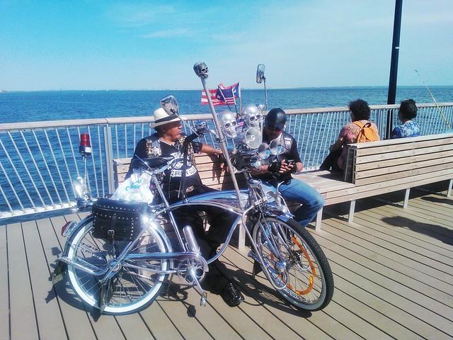 At Boardwalk, Spring-2014