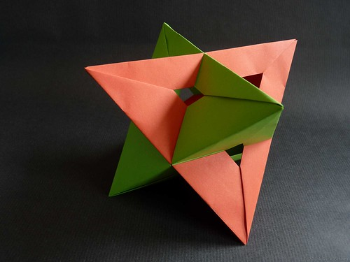 Two Tetrahedra with two widths