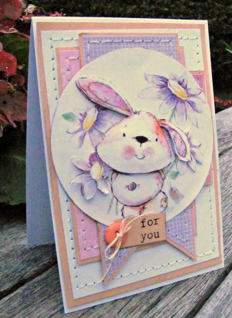 Bunny Decoupage.