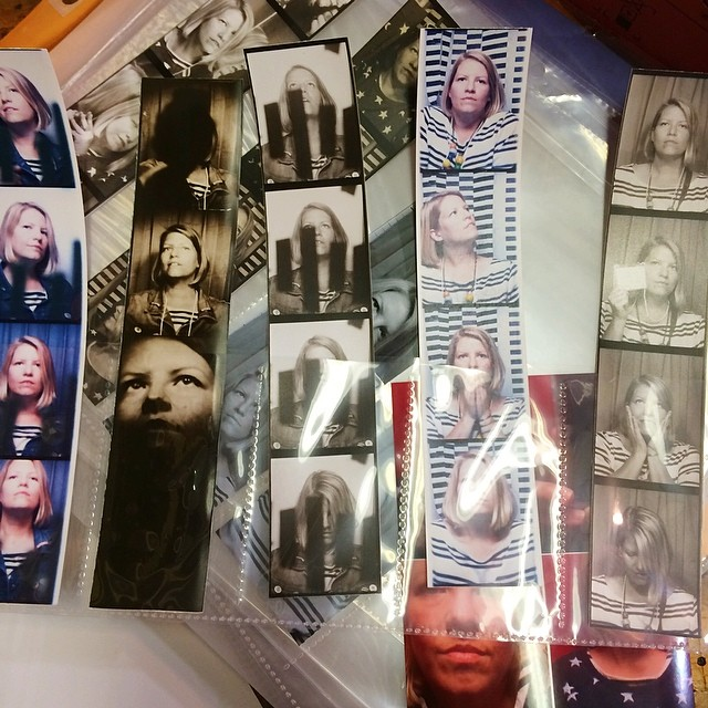 Some of my strips from yesterday at the #internationalphotoboothconvention in #Chicago. I think there were 8 booths and I took a workshop on #photobooth art with Meags Fitzgerald. It was so exciting to play freely and explore.