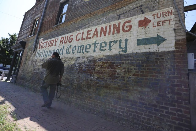 Making Alan work for his pictures