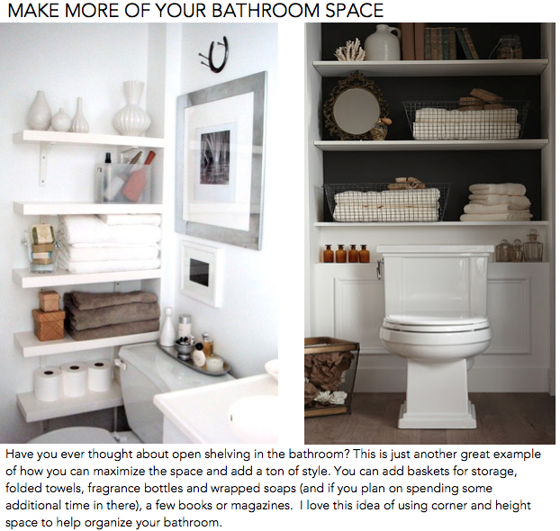 Make More of Your Bathroom Space