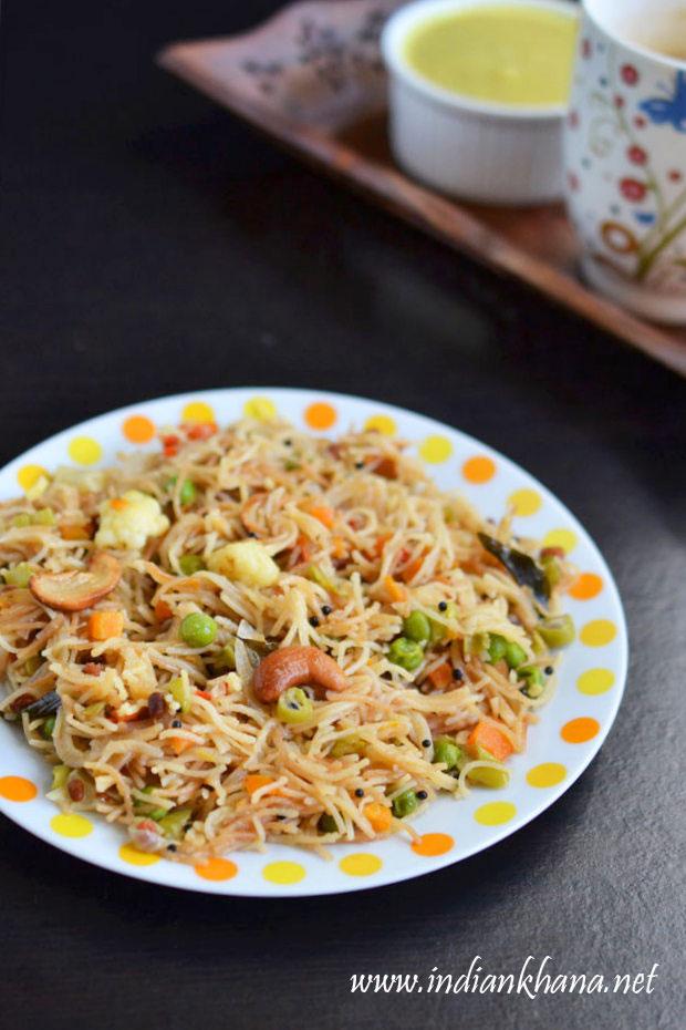 Vegetables-Semiya-Upma-Recipe
