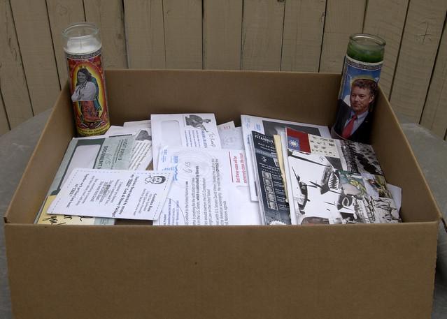Box o junk mail 136