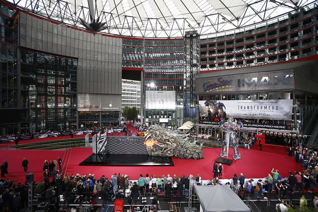 Transformers 4 Berlin Premiere