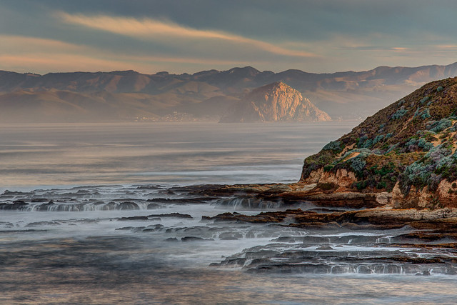 Morro Rock from Montana de Oro