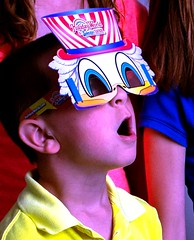 3D Fireworks Glasses plus Character Mask