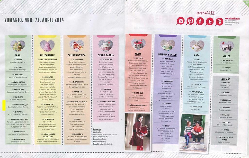 Revista Oh La Lá Abril 2014 (2)