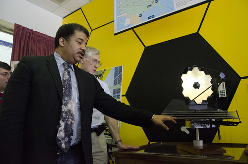 Dr. Neil deGrasse Tyson Visits JWST and NASA Goddard