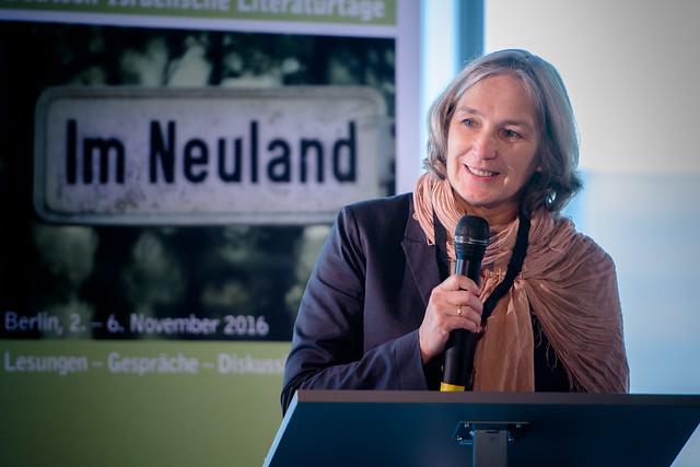 Heike Friesel (Projektleitung, Goethe-Institut) Foto: stephan-roehl.de