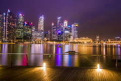 Marina Bay Sands After Dark