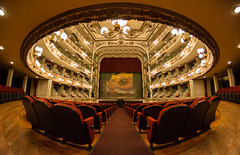 Celebra Gabino Cué reconocimiento del Teatro Macedonio Alcalá como Recinto Emblemático de las Lunas del Auditorio, Oaxaca