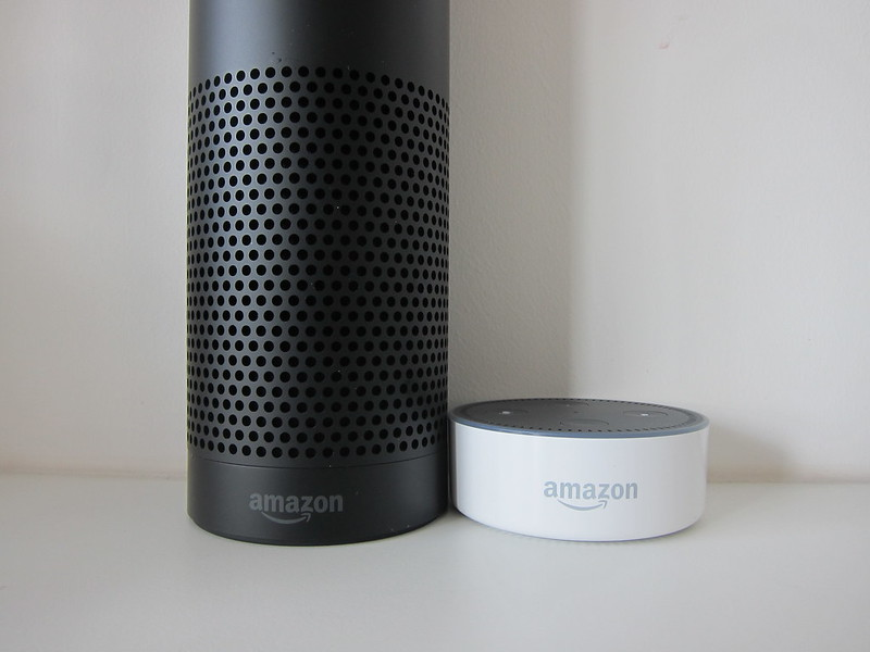 Amazon Echo vs Amazon Echo Dot