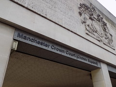 Manchester Crown Court's Side Entrance