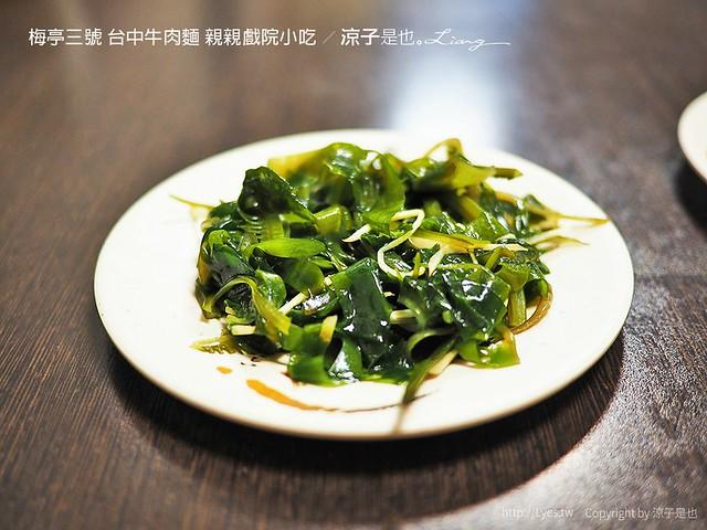 梅亭三號 台中牛肉麵 親親戲院小吃 6