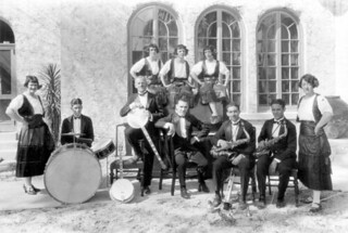 Orchestra at the Antilla Hotel: Coral Gables, Florida