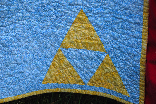 Quilted Triforce