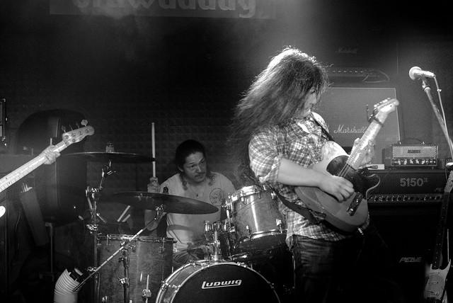 O.E. Gallagher live at Crawdaddy Club, Tokyo, 15 Jun 2013. 314