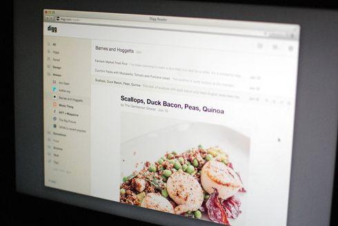 Digg - замена Google Reader