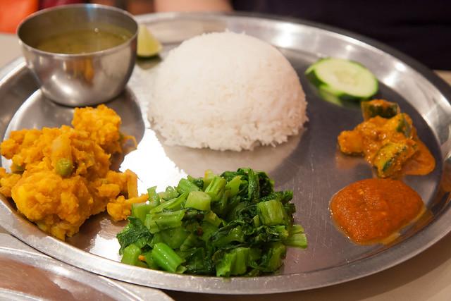 Thali, Mustang Thakali Kitchen