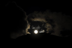 Super moon Kinloch