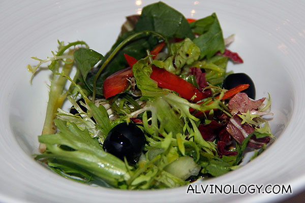 Salad from the bar