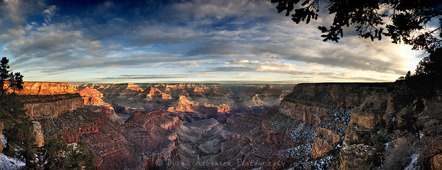 South Rim of the Grand Canyon Panorama