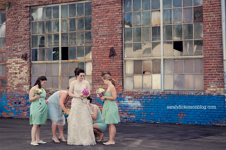 Boulevard Brewery Kansas City wedding photos