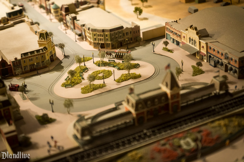 1955 Disneyland Model