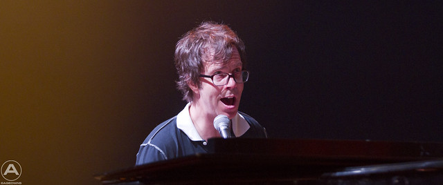 Ben Folds playing piano