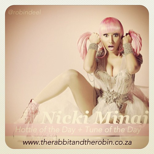 Nicki Minaj - Hottie of the Day + Tune of the Day                                         www.therabbitandtherobin.co.za {follow me @robindeel on Instagram} Official @rabbitandrobin #nickiminaj #tuneoftheday #music #hottie #pink #pinkfriday @allpinkbarbie