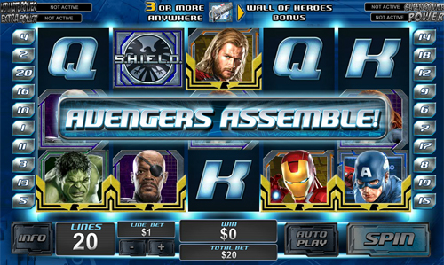 free The Avengers bonus feature