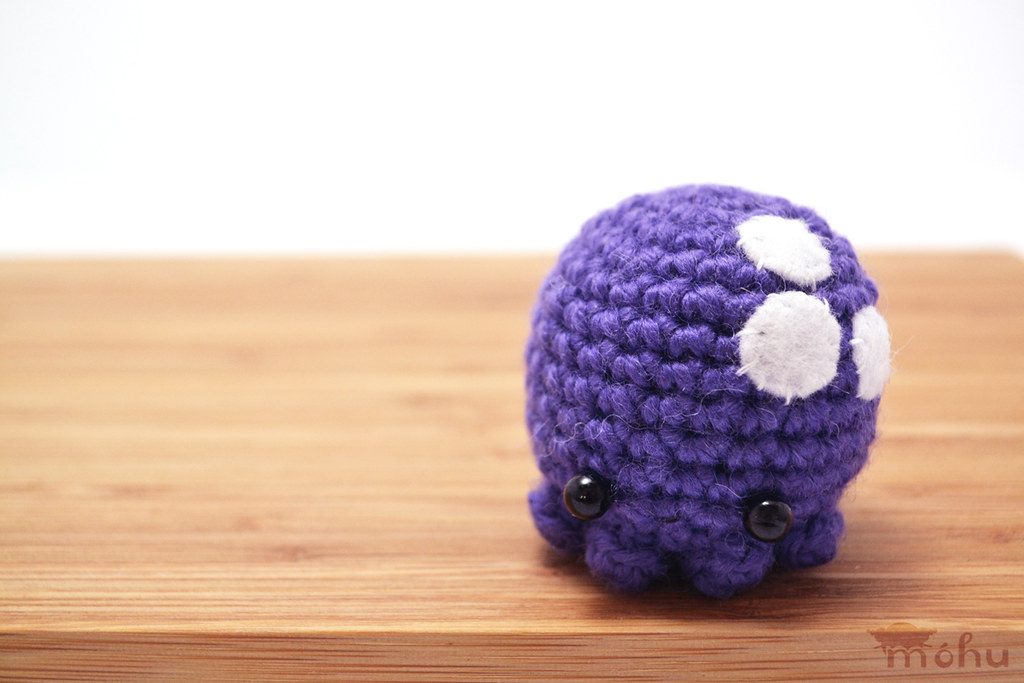 Amigurumi Octopus Mohu : Amigurumi octopus mohu: ravelry designs by mohu.