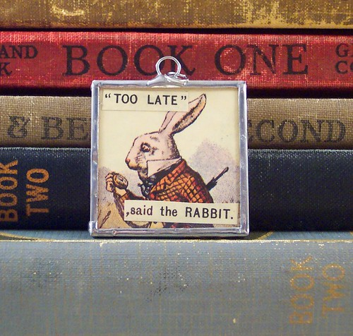 White Rabbit Pendant