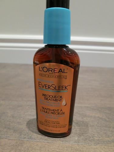L'Oreal EverSleek Hair Oil (with Argan Oil)