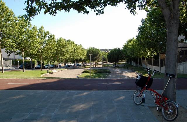 Carril bici en Pozuelo
