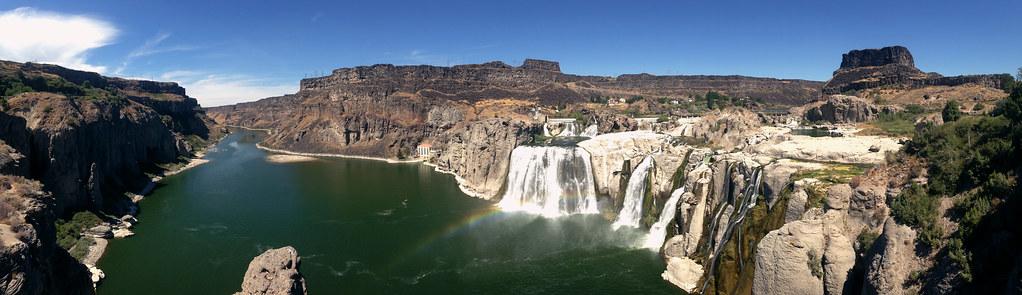 Shoshone Falls Pan