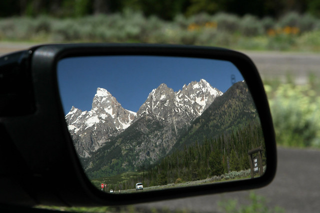 Tetons Through the Mirror