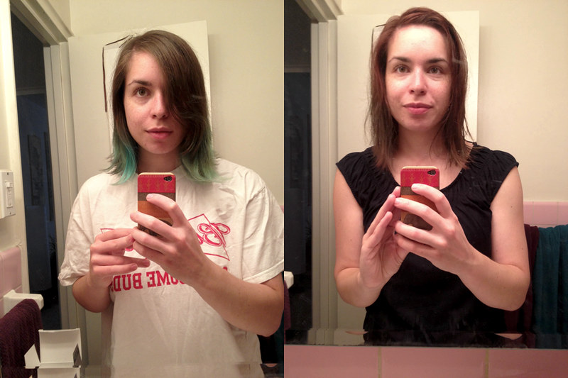 Changes up in Hair