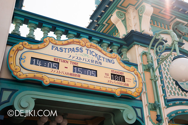 Toy Story Mania - Morning Fastpass Madness - Ticketing Time Board