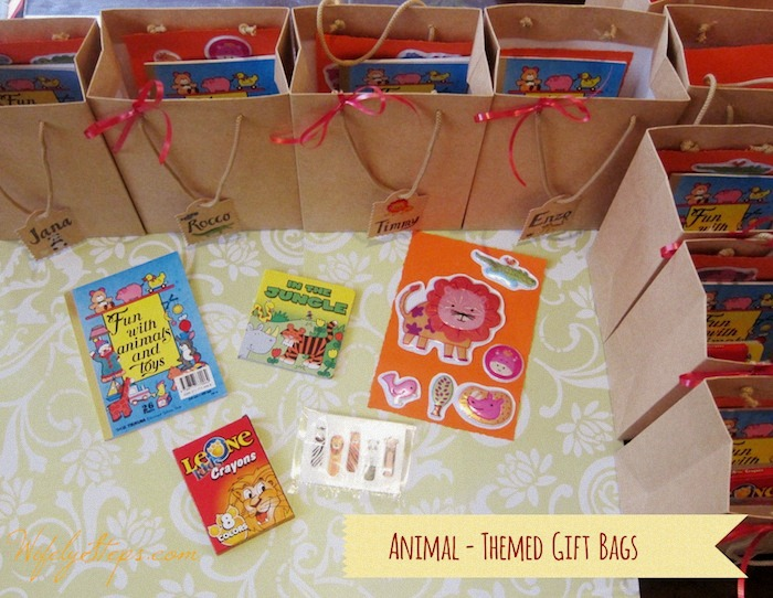 Animal-Themed Gift Bags